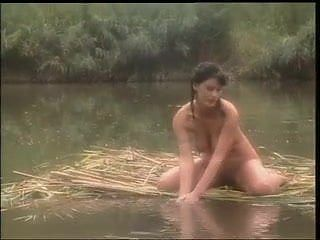 Knockout Brunette Fucked in a Jungle Swamp.....